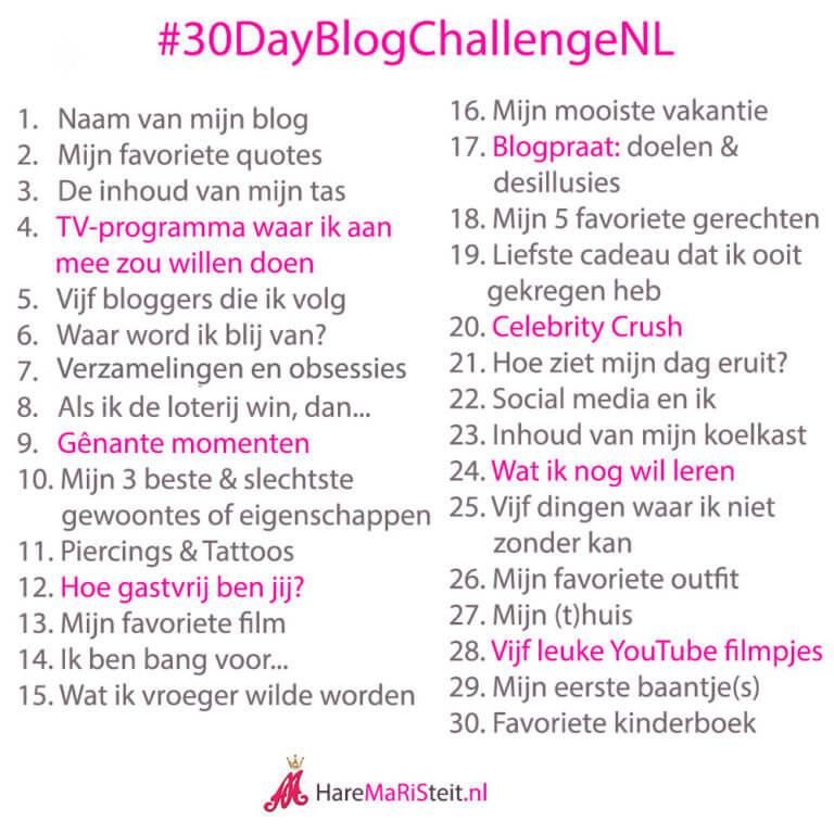 30DayBlogChallengeNL