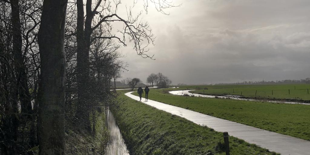 Groningen heeft mooie paden